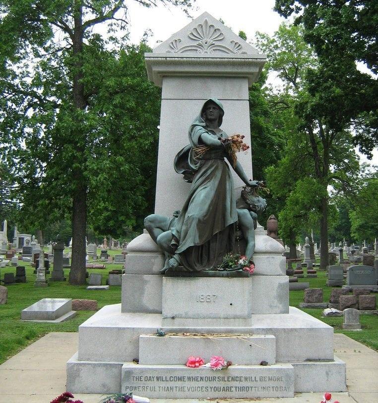 Haymarket_Martyr Memorial